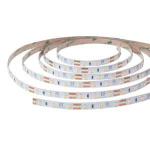 RibbonFlex Pro 32.8 ft. 12-Volt White Tape Strip Light 60 LEDs/m Soft White (2700K)
