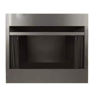 Universal Radiant Zero Clearance 42 in. Ventless Dual Fuel Fireplace Insert