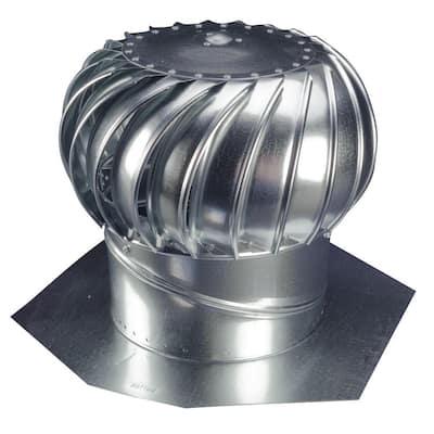12 in. Galvanized Steel Internally Braced Whirlybird Wind Turbine