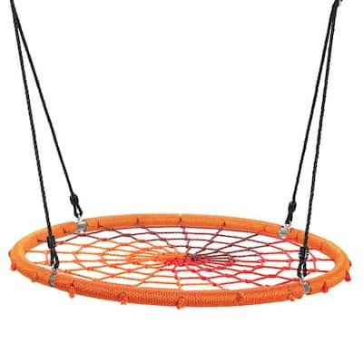Spider Web Orange Tree Swing with Chain