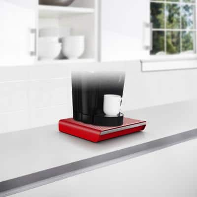 Hero 36-Capacity Red Coffee Pod Storage Drawer