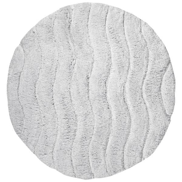 Ring Spun Cotton Tufted 30 In Round, Circle Bathroom Rugs