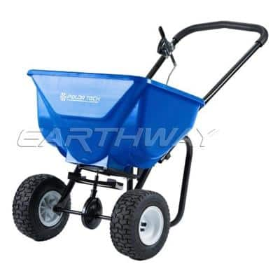 High Output Broadcast Spreader with Pneumatic Tires