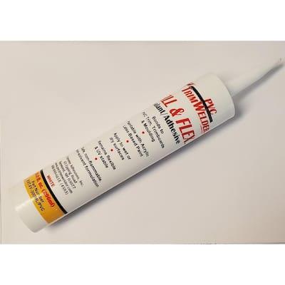 10 oz. White Fill and Flex Sealant/Adhesive