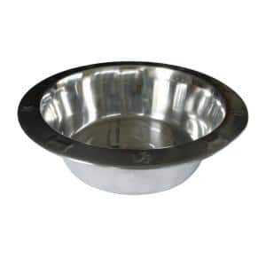 Steel Single Dog Bowl Kit