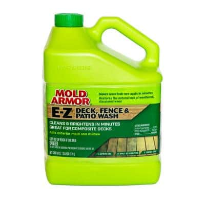 1 Gal. E-Z Deck and Fence Wash Mold and Mildew Remover