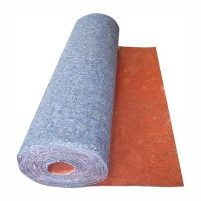 360 sq. ft. 6 ft. x 60 ft. x 1/8 in. Acoustical Underlayment with Attached Vapor Barrier for Laminate Flooring