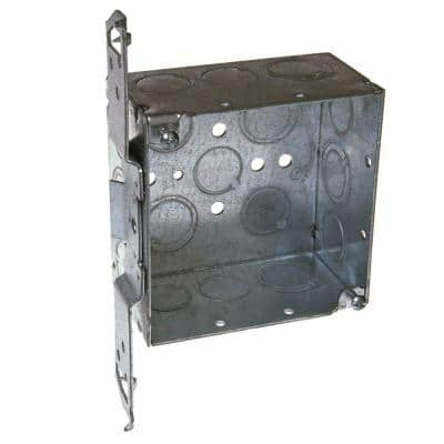 4 in. Welded Square Electrical Box, Bracket