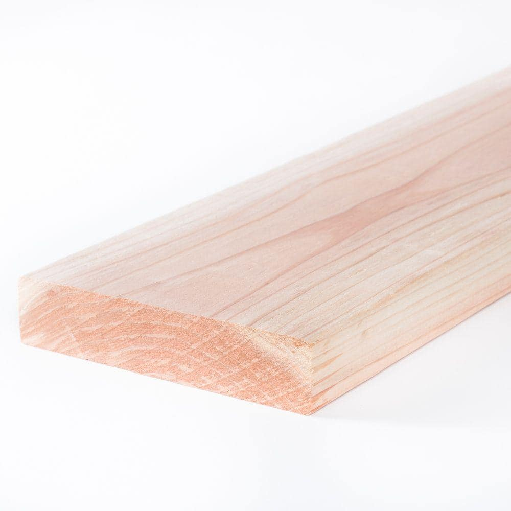 2 In X 8 In X 10 Ft Construction Common Redwood Lumber 713746 The Home Depot