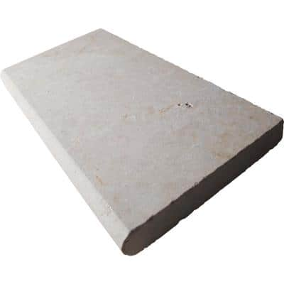 Aegean Pearl 12 in. x 24 in. Beige  Marble Pool Coping (10 Pieces / 20 Sq. Ft. / Pallet)