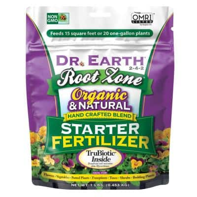1 lb. 13 sq. ft. Organic Root Zone Starter Dry Fertilizer