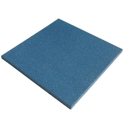 Eco-Sport Blue 3/4 in. T x 19.5 in. W x 19.5 in. L Interlocking Rubber Tiles (56 sq. ft.) (20-Pack)