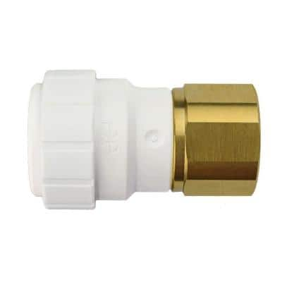 3/4 in. Plastic Push-to-Connect Female Connector Fitting (5-Pack)