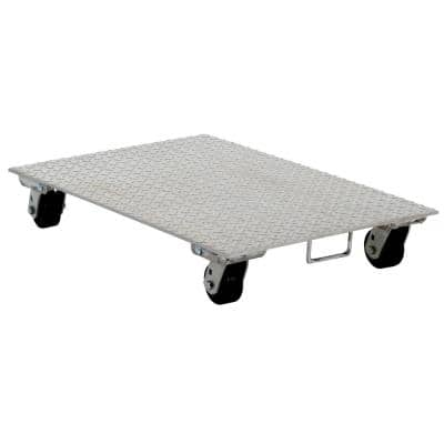 24 in. x 36 in. Aluminum Dolly with Steel Wheels and Handle