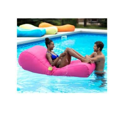 Capri Inflatable Lounger in Fuchsia