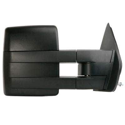 Towing Mirror for 09-12 Ford F150 Extendable with Signal and Puddle Lamp Textured Black Foldaway RH Heated Power