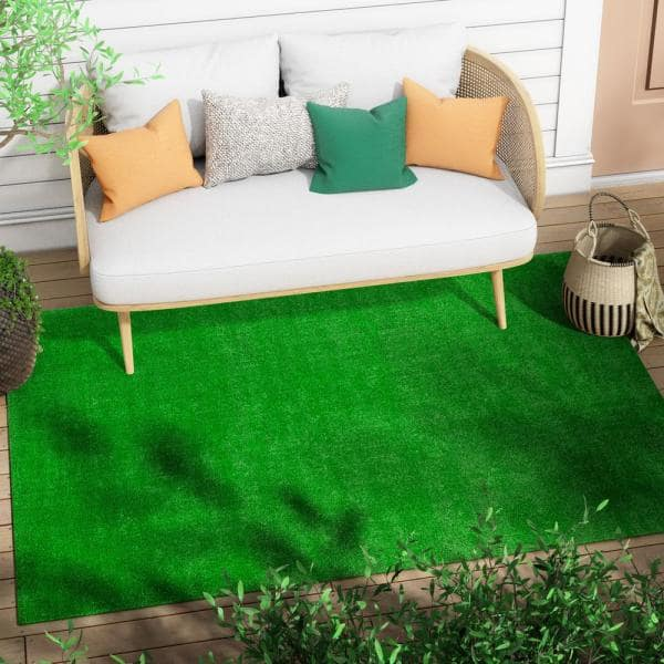 Details about  /Artificial Green Plant Wall Fake Lawn Carpet Turf Balcony Home Office Decor N3