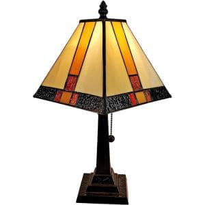 15 in. Tiffany Style Mission Table Lamp