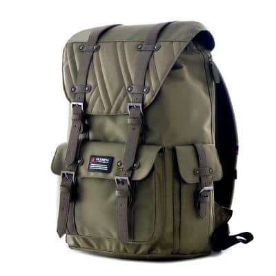 HOPKINS 18 in. Olive Backpack