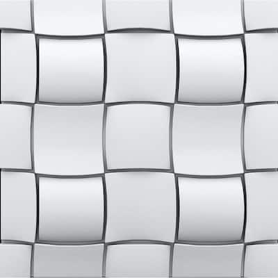 Rubik 3/4 in. x 23-1/2 in. x 23-1/2 in. Seamless Foam Glue-Up Wall