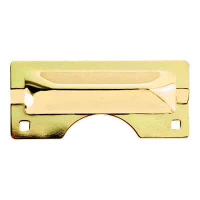 Polished Brass Heavy Duty Latch Guard