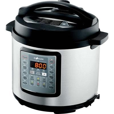 Ecohouzng 6 Qt. Stainless Steel Electric Pressure Cooker