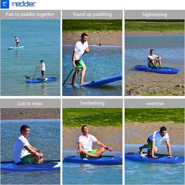 Pompe redder Paddle Planches Gonflable Vortex All Round Stand Up Board Paddle Gonflable avec Pagaie Sac /à Dos Leash et Kit de R/éparation