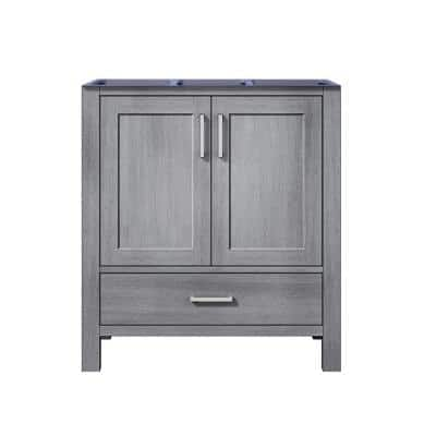 Jacques 29 in. W x 21.50 in. D  Bath Vanity Cabinet only in Distressed Grey