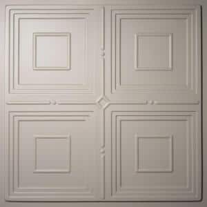Jackson Latte 2 ft. x 2 ft. Lay-in or Glue-up Ceiling Panel (Case of 6)