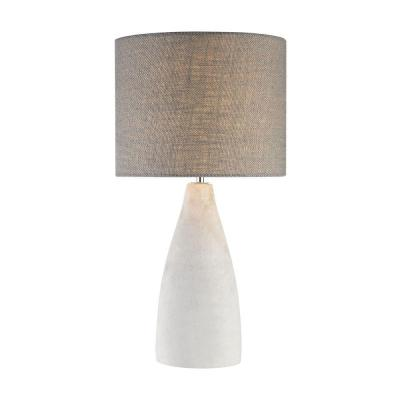 Rockport 21 in. Polished Concrete Table Lamp