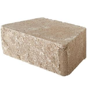 RockWall Small 4 in. x 11.75 in. x 6.75 in. Pecan Concrete Retaining Wall Block (144 Pcs. / 46.5 Face ft. / Pallet)