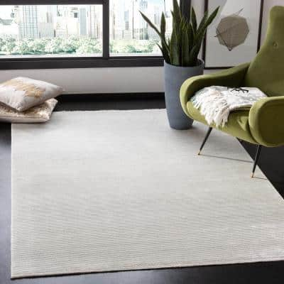 Dream Ivory 5 ft. x 8 ft. Abstract Area Rug
