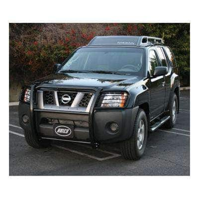 1-1/2-Inch Black Steel Grille Guard, No-Drill, Select Nissan Xterra