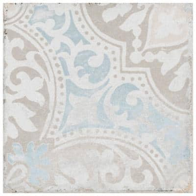 Barcelona Decor Montjuic 5-3/4 in. x 5-3/4 in. Porcelain Floor and Wall Tile (10.77 sq. ft. /Case)