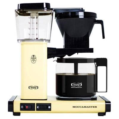 KBG 10-Cup Butter Yellow Drip Coffee Maker