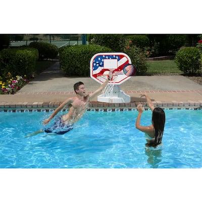 USA Competition Swimming Pool Basketball Game