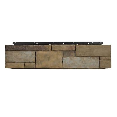 8 in. x 36 in. Versetta Stone Tight-Cut Corner Plum Creek Siding (6-Bundles)