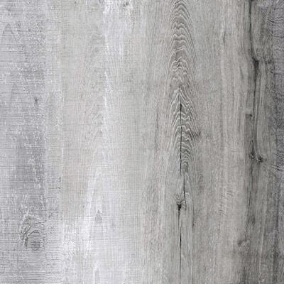 Alpine Backwoods Oak Multi-Width x 47.6 in. L Click-Lock Luxury Vinyl Plank Flooring (48 cases/937.44 sq. ft./pallet)