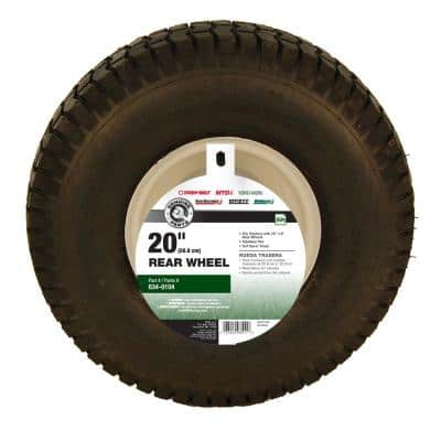 20 in. x 8 in. Rear Tractor Wheel for Troy-Bilt Cub Cadet and Craftsman Lawn and Garden Tractors