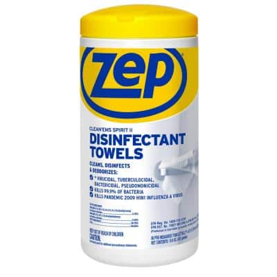 80-Count Clean'ems Sprit ll Disinfecting Wipes (Towel)