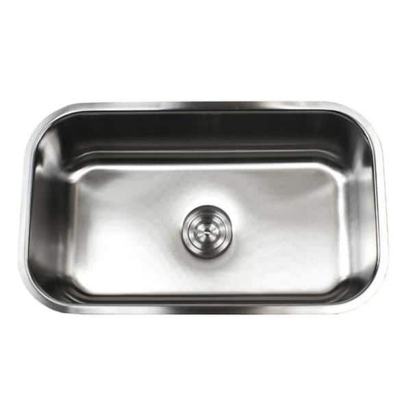 Emoderndecor Undermount 16 Gauge Stainless Steel 30 In X 18 1 8 In X 10 In Single Bowl Kitchen Sink 16g 960 The Home Depot