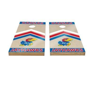 Kansas Jayhawks Cornhole Set