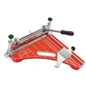 12 in. Pro Grade VCT Vinyl Tile and Luxury Vinyl Tile Cutter up to 1/8 Thickness