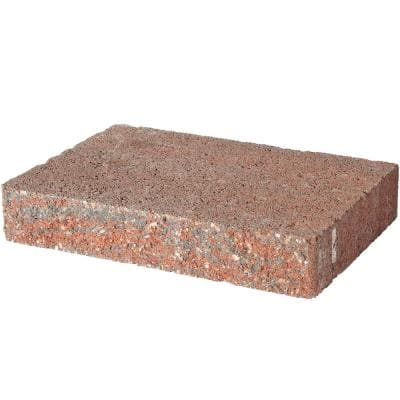 2 in. H x 8 in. W x 12 in. L Red Charcoal Retaining Wall Cap (120-Pieces/118 Lin. ft./Pallet)