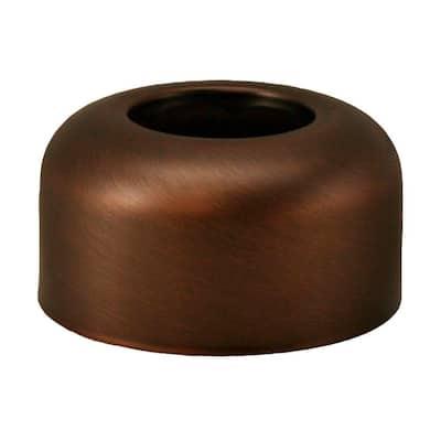 3 in. O.D. Box Pattern Escutcheon for 1-1/2 in. Tubular in Old World Bronze