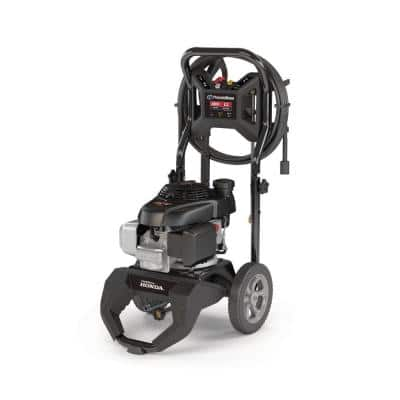 2800 PSI 2.3 GPM Cold Water Gas Pressure Washer with Honda GCV160 OHV Engine and Quick Connect Spray Tips