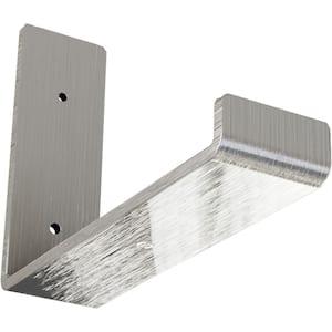 2 in. x 6 in. x 8 in. Unfinished Steel Hanging Shelf Bracket