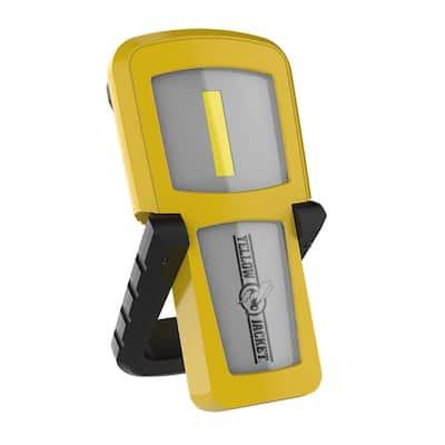 300 Lumens Rechargeable Handheld Light, Yellow