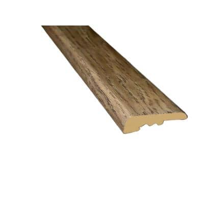 Oak Mansfield 3/8 in. Thick x 1-7/16 in. Wide x 94 in. Length Square Nose / End Cap Molding