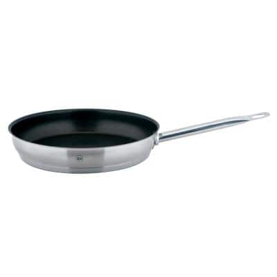 PRO-X 11 in. Stainless Steel Nonstick Skillet in Satin Stainless Steel